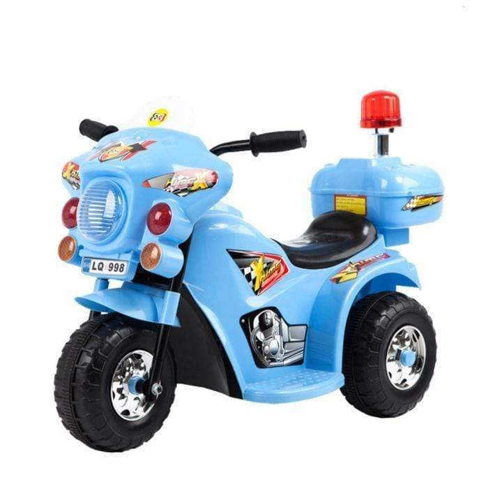 Police Motorbike -Kids Ride On Blue Snatcher Online Shopping South Africa