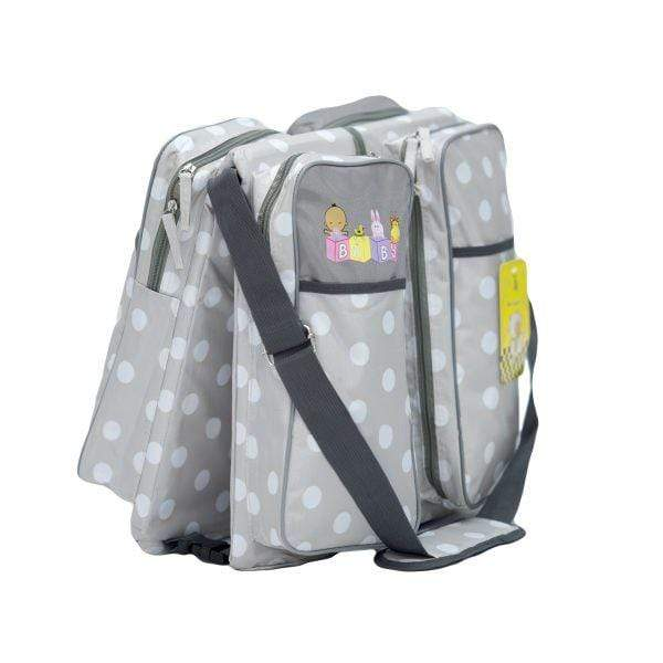 Polka Dotted Baby Bag And Bed Grey Snatcher Online Shopping South Africa