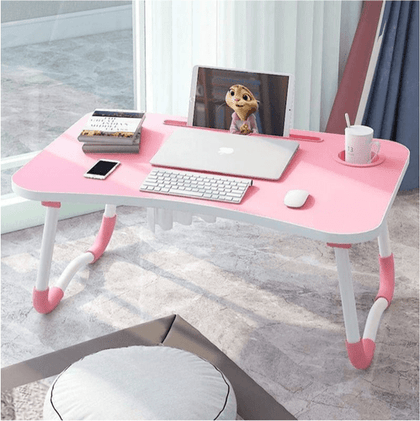 Portable Bamboo Laptop Tray Pink Snatcher Online Shopping South Africa