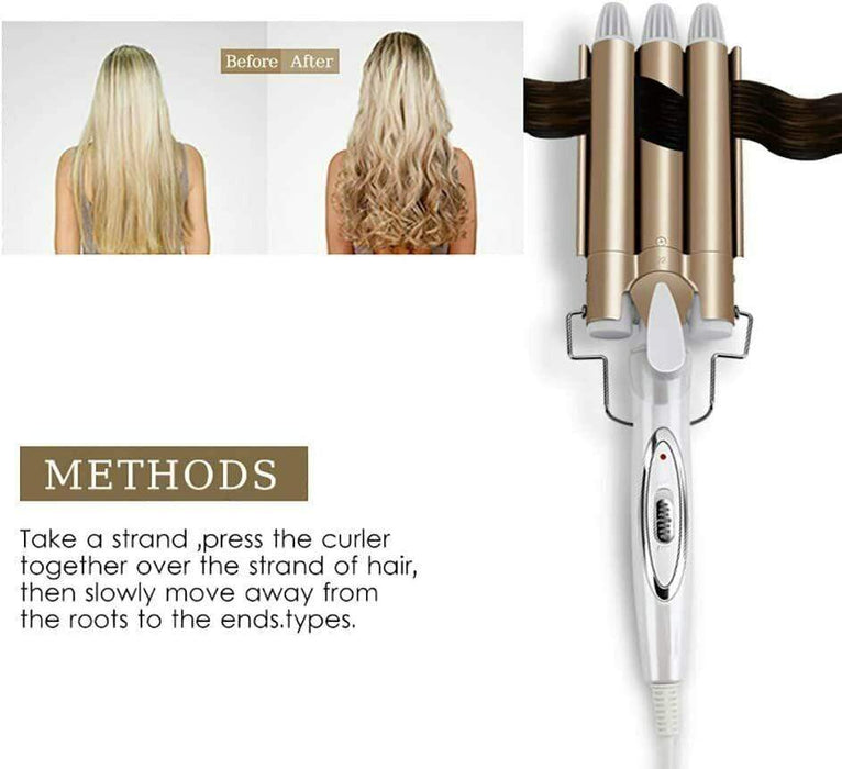Professional Ceramic Wave Hair Curler Snatcher Online Shopping South Africa