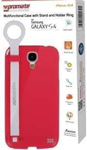 Promate Pless-S4 Multifunctional Case with a Stand and a Holder Ring for Samsung Galaxy S4-Pink Retail Box 1 Year Warranty Snatcher Online Shopping South Africa