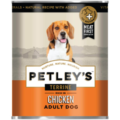Promeal PETLEY'S Terrine Dog Food in Gravy - Chicken / Lamb / Oxtail 775g Pack of 6 Snatcher Online Shopping South Africa