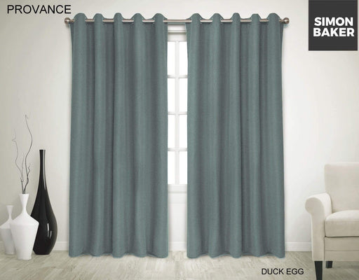 Provance Eyelets Curtains 265 X 220CM / DUCK EGG Snatcher Online Shopping South Africa