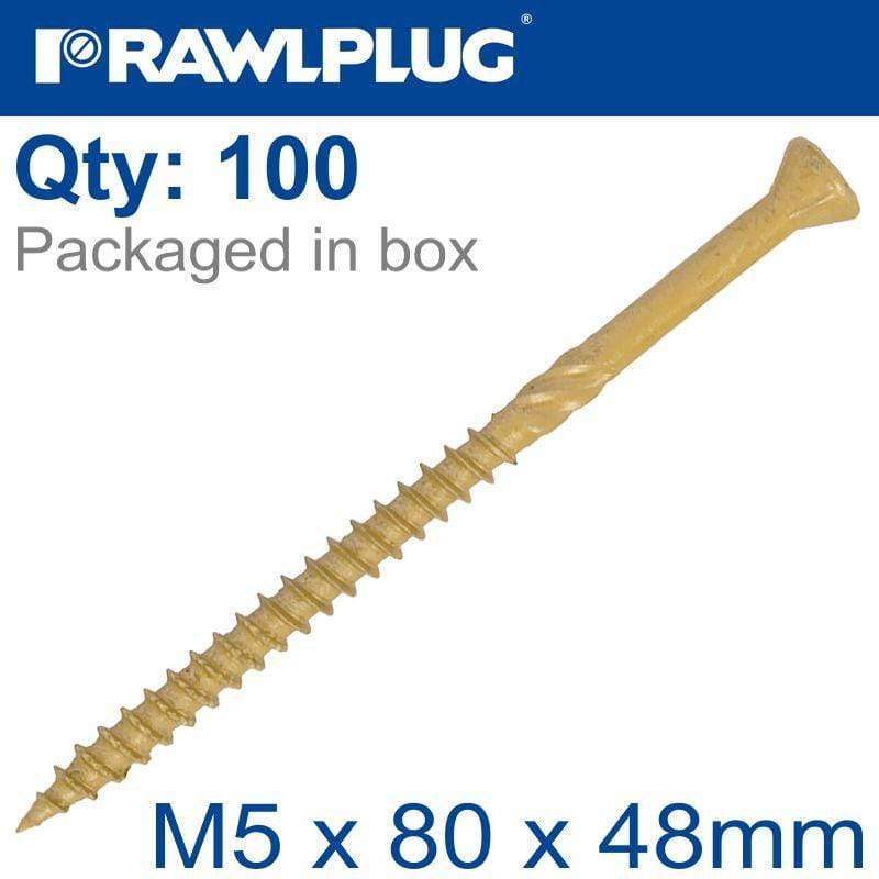 R-DSX SCREWS M5 X 80X48 GINGER RUSPERT X100-TUB Snatcher Online Shopping South Africa
