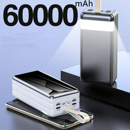 Rapid Charge 60000mAh High Capacity Power Bank Snatcher Online Shopping South Africa