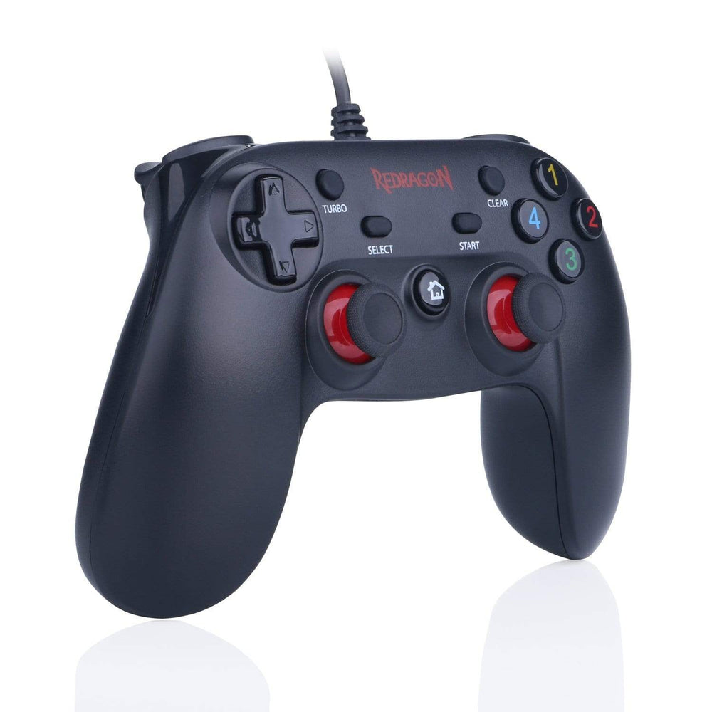 Redragon SATURN Wired X/D-input(Digital/Analog) PC Controller Black Snatcher Online Shopping South Africa