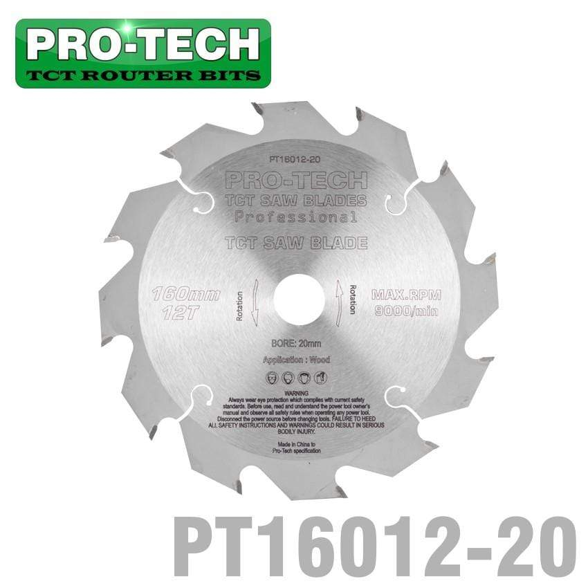 SAW BLADE TCT 160X2.2X20X12T WOOD PROF. PRO-TECH FES. TS55 PW12 Snatcher Online Shopping South Africa