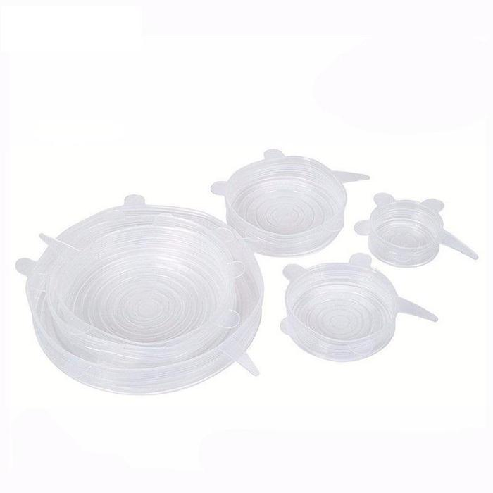 Silicone Sealing Lids Pack of 6 Snatcher Online Shopping South Africa