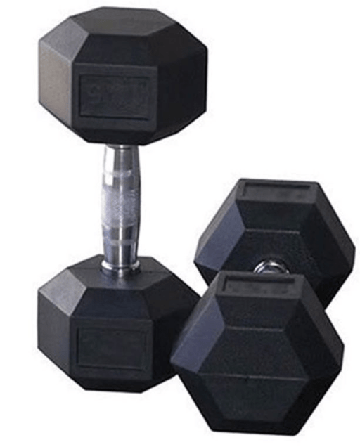 SL Fitness Rubber Hex Coated Dumbbells Snatcher Online Shopping South Africa