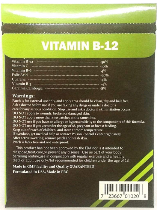 Slender Living Vitamin B-12 Slimming Patches Snatcher Online Shopping South Africa