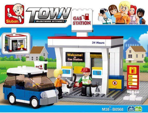 Sluban Town-Gas Station - 167 Piece Snatcher Online Shopping South Africa