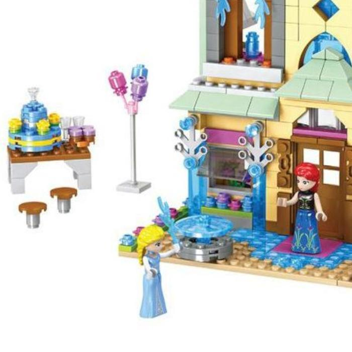 Snow Princess Castle Building Blocks Snatcher Online Shopping South Africa