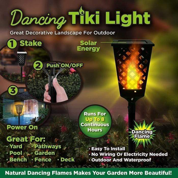 Solar Dancing Tiki Light Snatcher Online Shopping South Africa