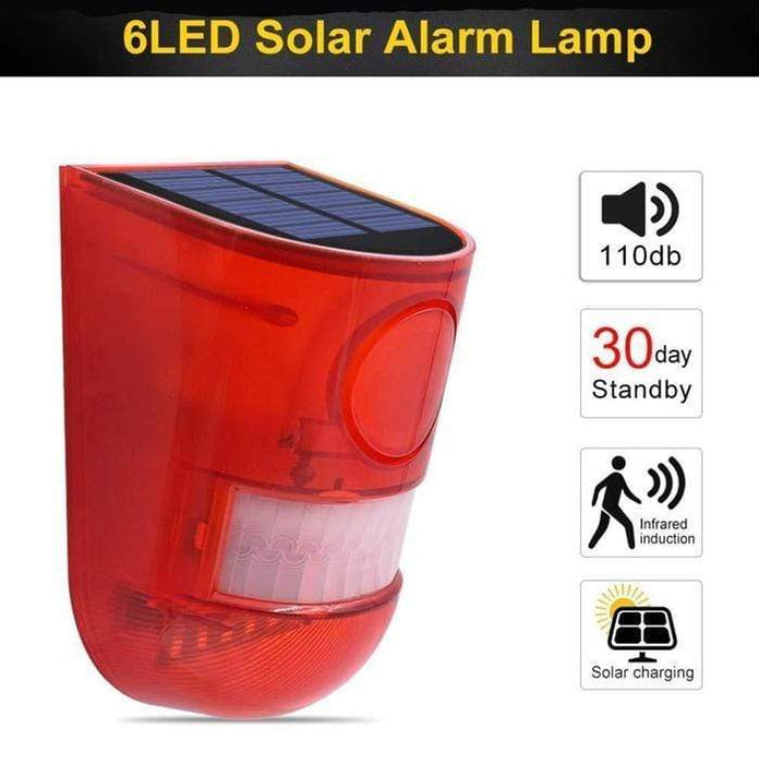 Solar Powered Alarm Lamp Snatcher Online Shopping South Africa