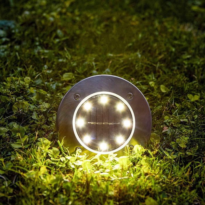 Solar Powered Flat Ground LED Lights Snatcher Online Shopping South Africa
