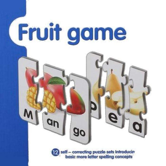 Spelling And Matching Puzzle Sets Fruits Game Snatcher Online Shopping South Africa