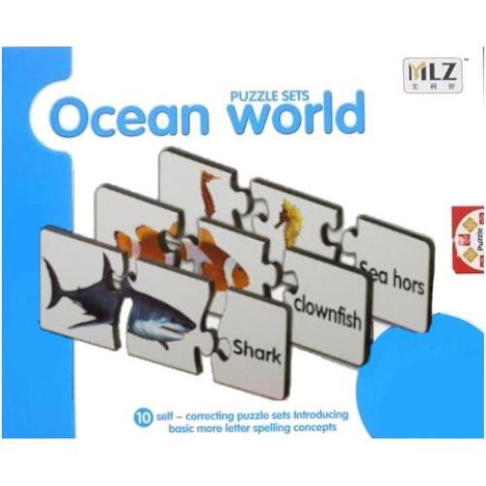 Spelling And Matching Puzzle Sets Ocean World Snatcher Online Shopping South Africa