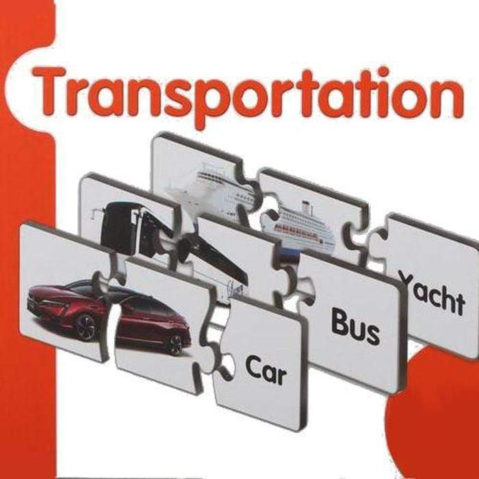 Spelling And Matching Puzzle Sets Transportation Snatcher Online Shopping South Africa