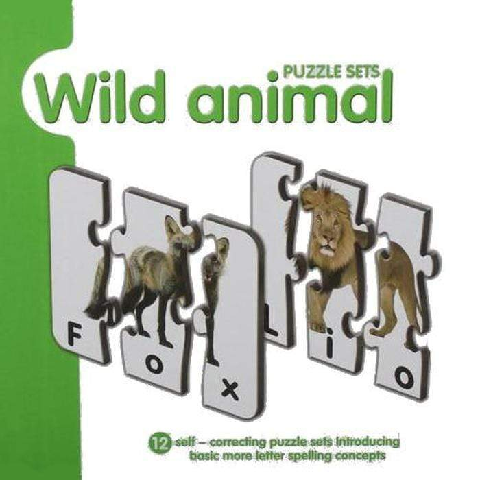 Spelling And Matching Puzzle Sets Wild Animals Snatcher Online Shopping South Africa