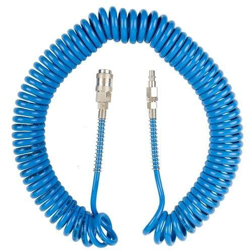 SPIRAL POLYP HOSE 5MMX8MMX12M WITH QUICK COUPLERS BX15PU12-5 Snatcher Online Shopping South Africa