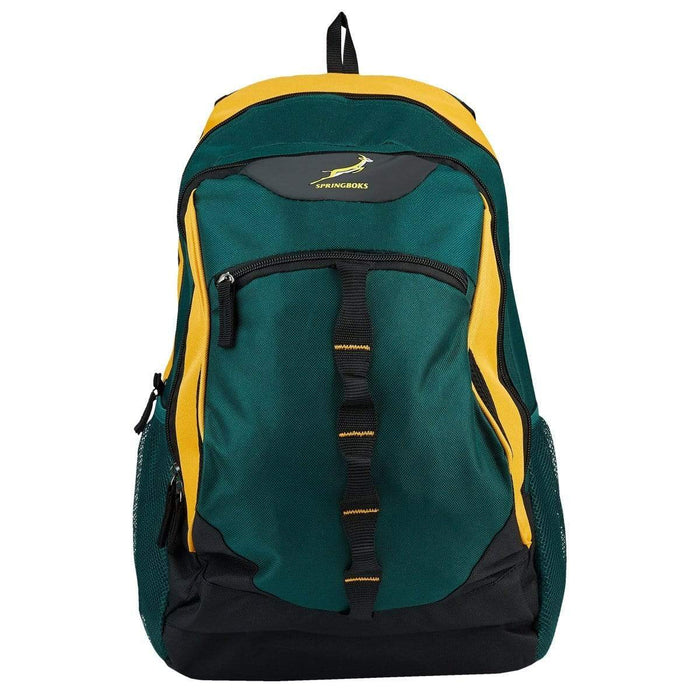 Springbok Sidestep 28L Backpack Green/Gold Snatcher Online Shopping South Africa