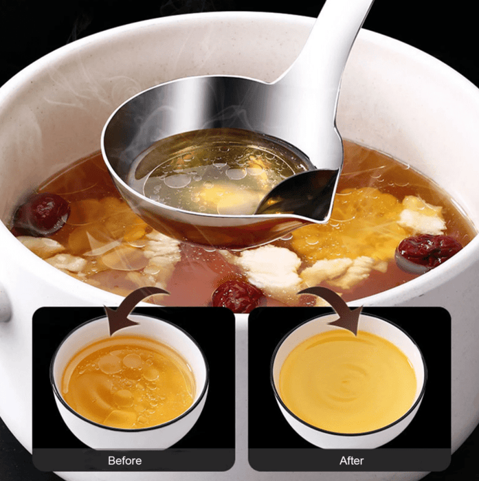 Stainless Steel Oil Separator Soup Ladle Snatcher Online Shopping South Africa