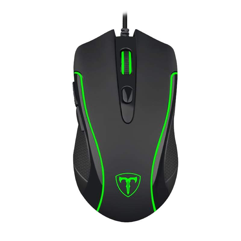 T-Dagger Private 3200DPI 6 Button|180cm Cable|Ergo-Design|RGB Backlit Gaming Mouse - Black Snatcher Online Shopping South Africa