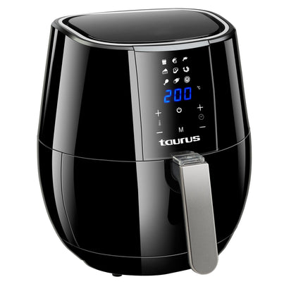 Taurus Air Fryer Digital Black 3.5L 1500W 'Digital Plus' Snatcher Online Shopping South Africa