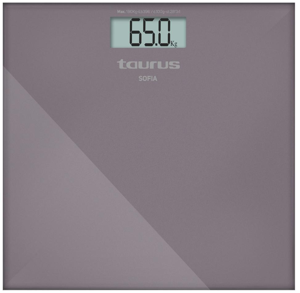 "Taurus Bathroom Scale Battery Operated Glass Purple 180kg 3V ""Sofia"" Snatcher Online Shopping South Africa"