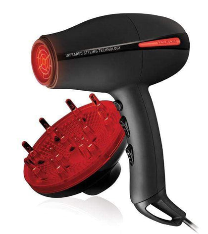 Taurus Hair Dryer With Diffuser Plastic Black 2200W
