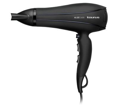 Taurus Hair Dryer With Diffuser Plastic Black 2400W