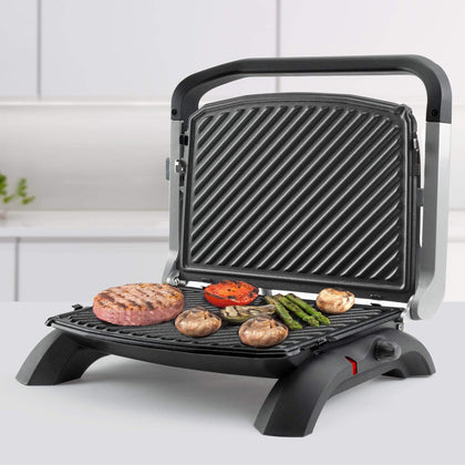 Taurus Panini Press With Cool Touch Handles Non-Stick 1800W 'Grill & Co