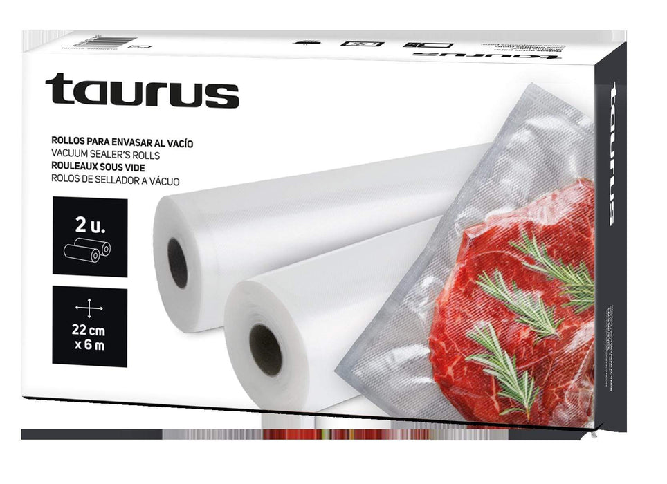 "Taurus Vacuum Sealer Bags Plastic 22X600cm ""VAC6000"" Snatcher Online Shopping South Africa"