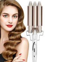 Three Barrel Ceramic Ionic Wave Curling Iron Snatcher Online Shopping South Africa