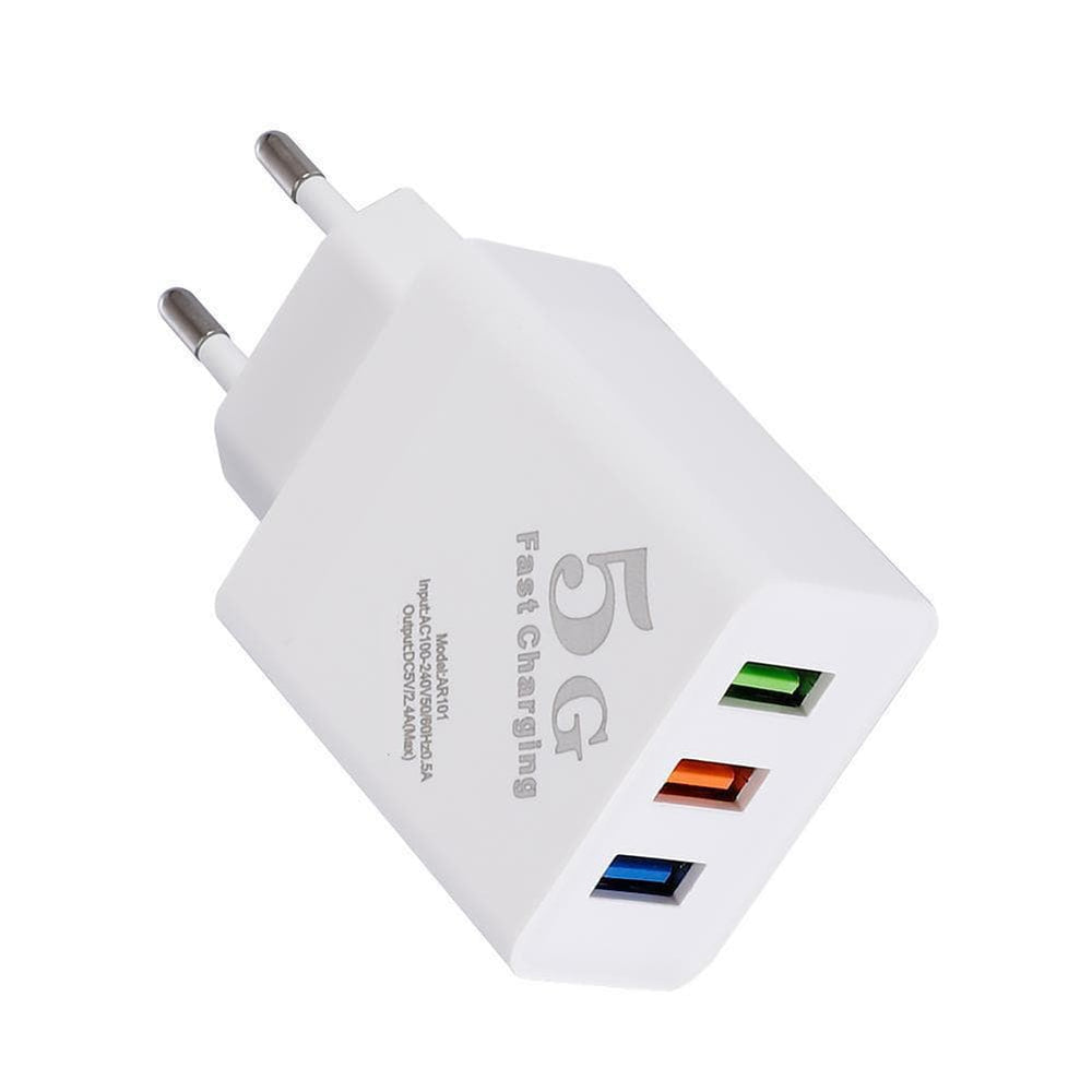 Three Port Wall Fast Charger Snatcher Online Shopping South Africa