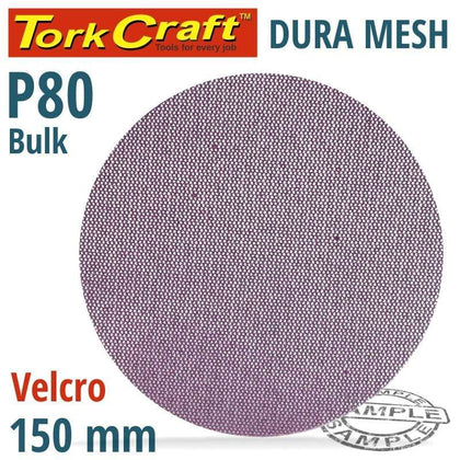 Tork Craft Dura Mesh Abr.Disc 150Mm Hook And Loop 80Grit Bulk For Sander Polisher Snatcher Online Shopping South Africa