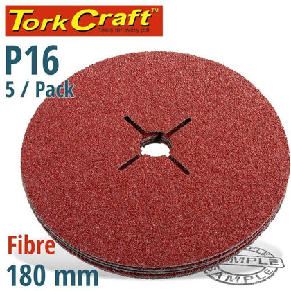 Tork Craft Fibre Disc 180Mm 16 Grit 5/Pack Snatcher Online Shopping South Africa
