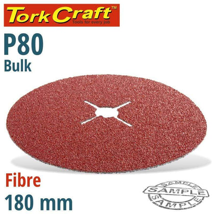 Tork Craft Fibre Disc 180Mm 80 Grit Bulk Snatcher Online Shopping South Africa