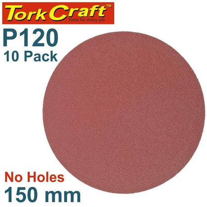 Tork Craft Sanding Disc Psa 150Mm 120 Grit No Hole 10/Pk Snatcher Online Shopping South Africa