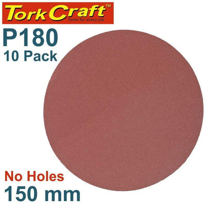 Tork Craft Sanding Disc Psa 150Mm 180 Grit No Hole 10/Pk Snatcher Online Shopping South Africa
