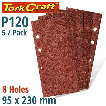 Tork Craft Sanding Sheet Orb 95 X 230Mm 120Gr Plain With 8 Holes 5/Pk Snatcher Online Shopping South Africa