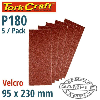 Tork Craft Sanding Sheet Orb 95 X 230Mm 180Gr Hook And Loop No Holes 5/Pk Snatcher Online Shopping South Africa