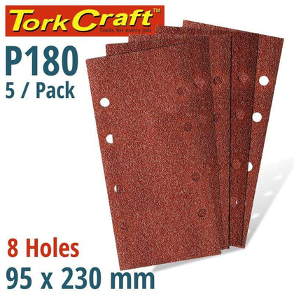 Tork Craft Sanding Sheet Orb 95 X 230Mm 180Gr Plain With 8 Holes 5/Pk Snatcher Online Shopping South Africa
