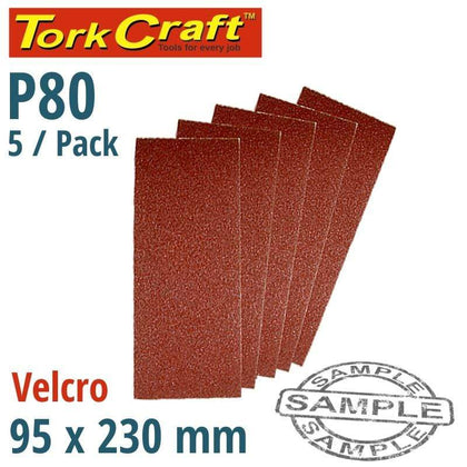 Tork Craft Sanding Sheet Orb 95 X 230Mm 80Gr Hook And Loop No Holes 5/Pk Snatcher Online Shopping South Africa