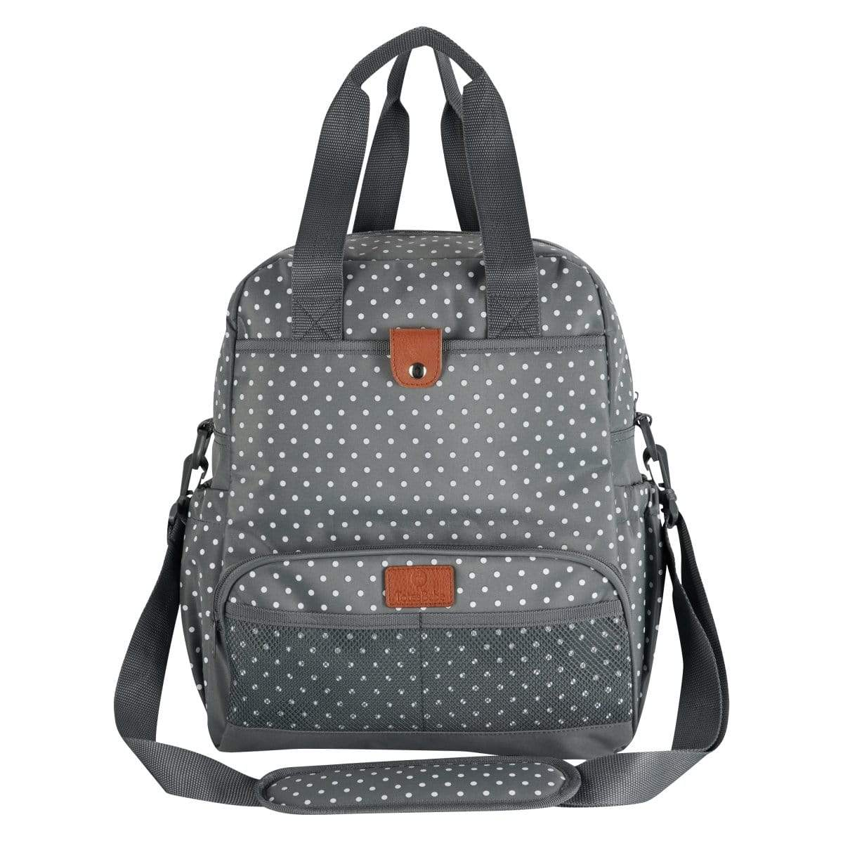 Totes Babe Dotty Series Diaper Backpack - Grey Snatcher Online Shopping South Africa