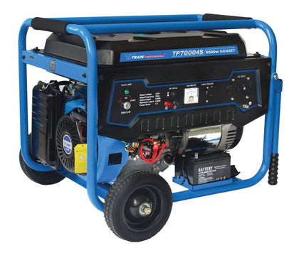 Trade Professional - Electric Start Generator - 6.5KW 13HP Snatcher Online Shopping South Africa