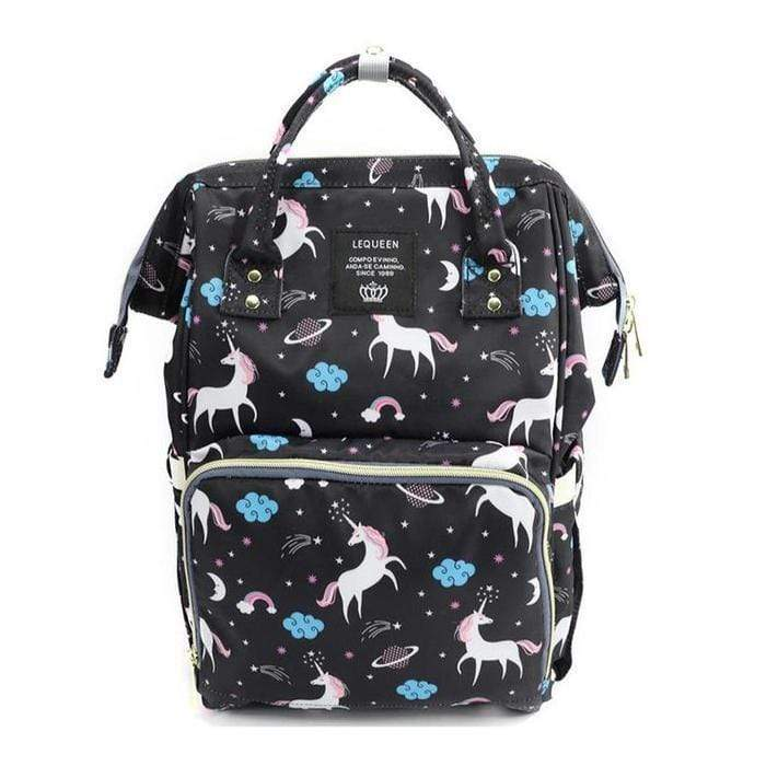 Unicorn Print Multi-Function Nappy Backpack Snatcher Online Shopping South Africa