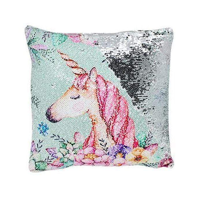 Unicorn Reversible Sequin Cushions Blue Flower Unicorn Snatcher Online Shopping South Africa