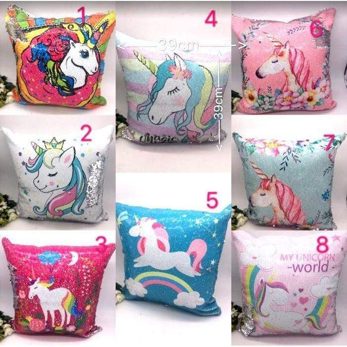 Unicorn Reversible Sequin Cushions Dark Pink Unicorn Snatcher Online Shopping South Africa