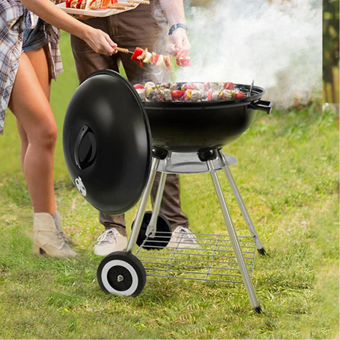 Vaggan BBQ Grill On Wheels Snatcher Online Shopping South Africa